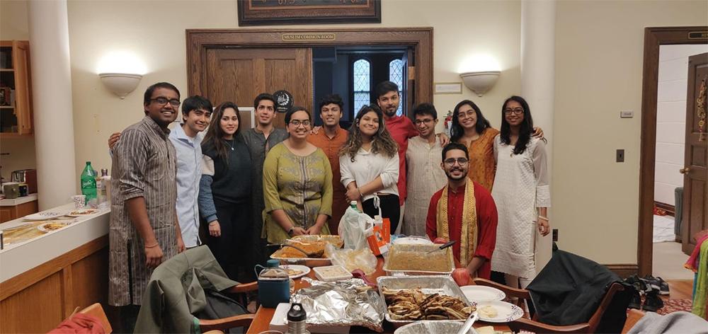 Student Hindu Association celebration