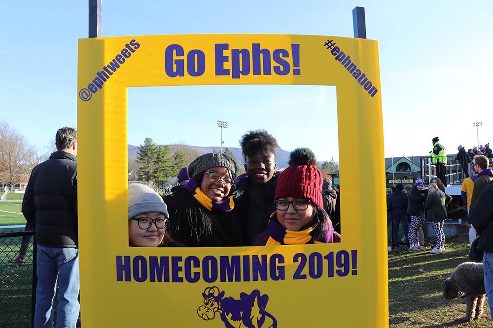"""Go Ephs"" Homecoming photobooth"