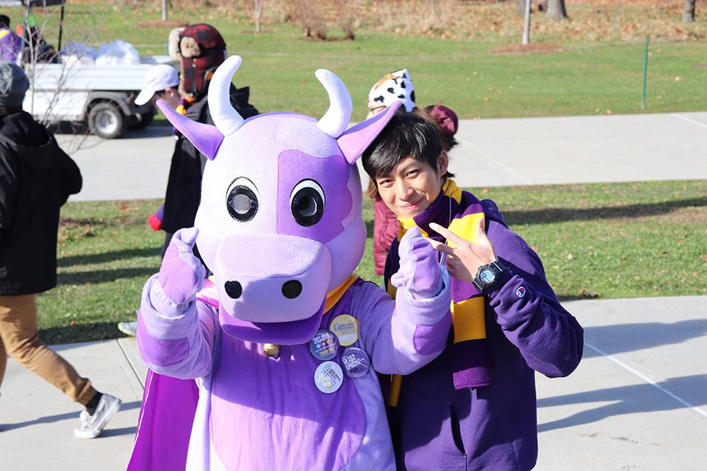 Williams cow mascot